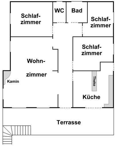 Wohnungsplan  Wohnungsplan